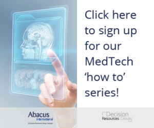 sign up for our MedTech 'how to' series!
